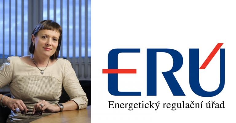 Ing. Alena Vitásková, předsedkyně ERÚ