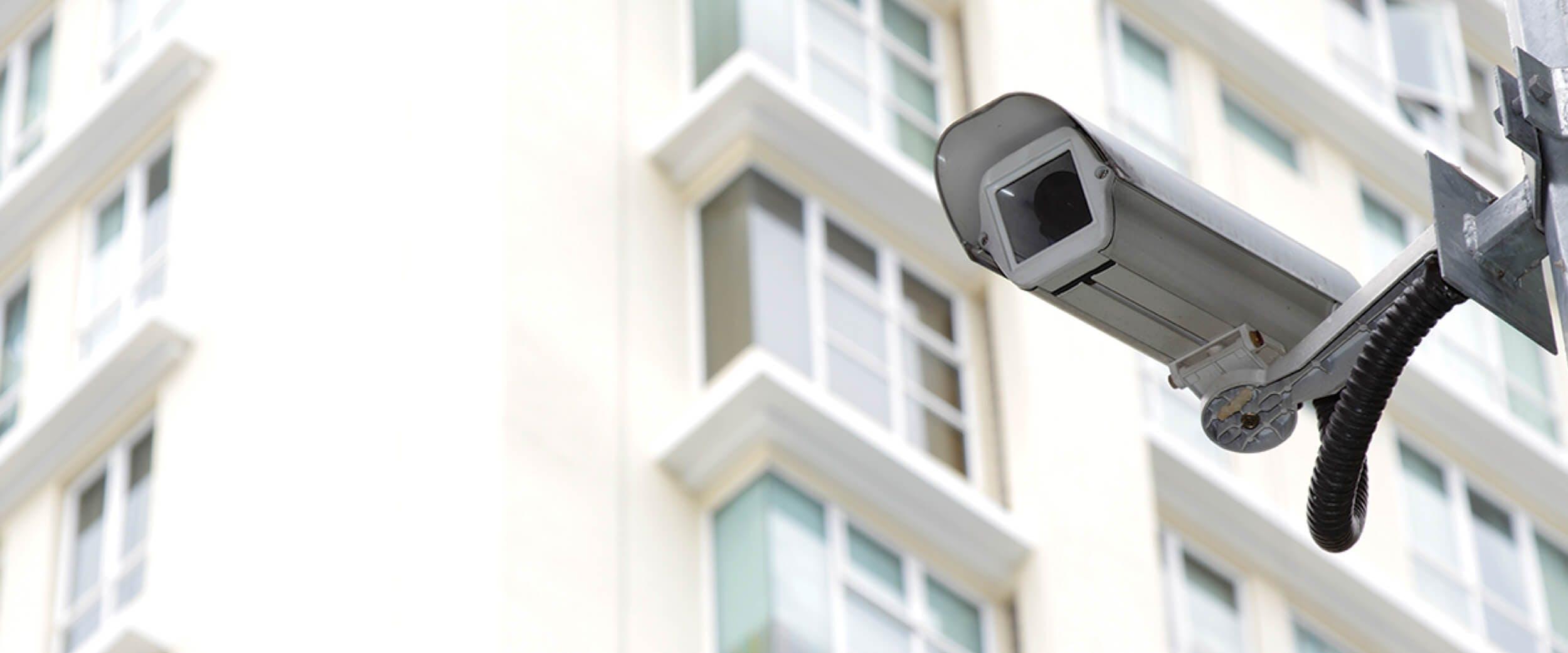 kamerový systém v bytovém domě